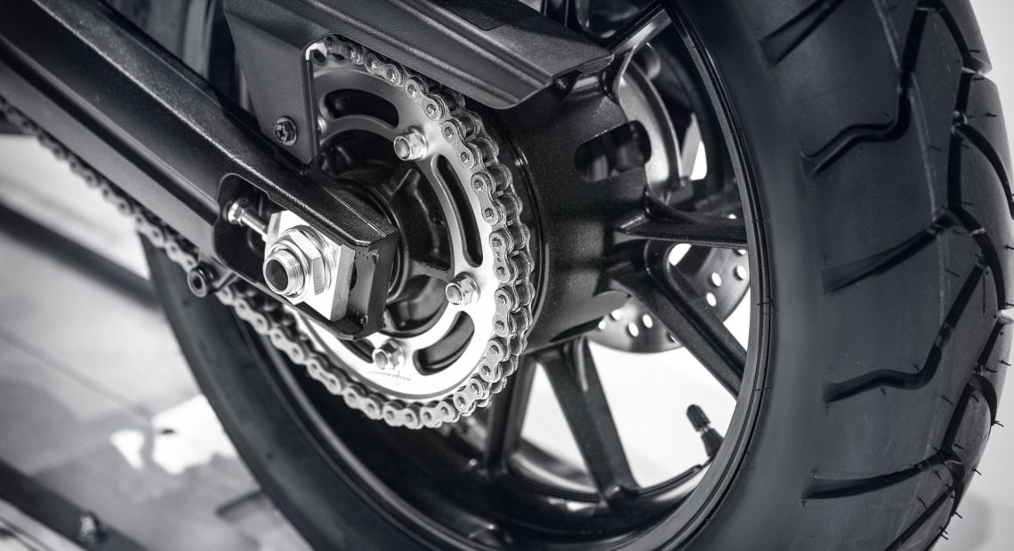 Tire of motorcycle
