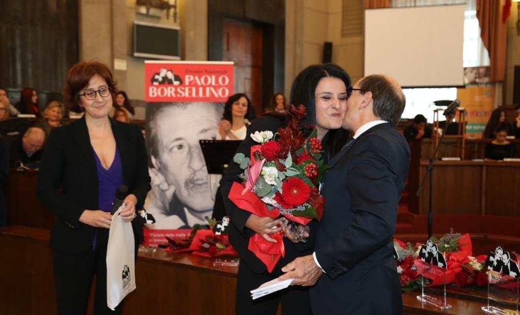 Casertace LE FOTO. Alla giornalista Marilena Natale il premio Paolo Borsellino