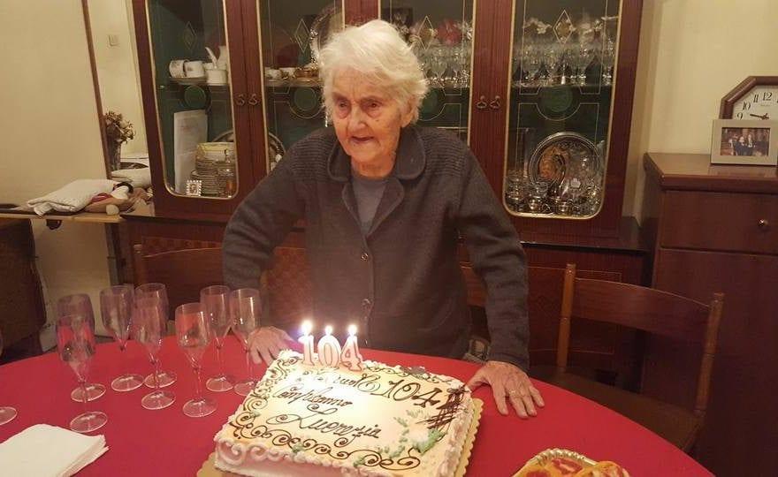 Casertace MARCIANISE. Addio alla nonnina più longeva della provincia. Muore a 104 anni Lucrezia Lauritano