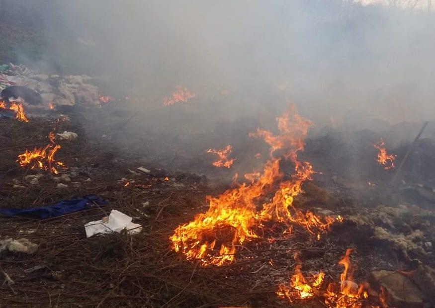 Beccato mentre appicca un incendio: denunciato imprenditore - CasertaCE