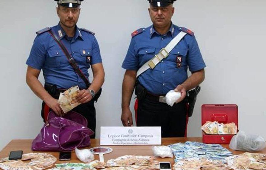 CASERTACE - Trovati con mezzo chilo di cocaina e 20 mila euro in contati. Dopo il padre, anche il figlio finisce in carcere. ECCO PERCHÉ