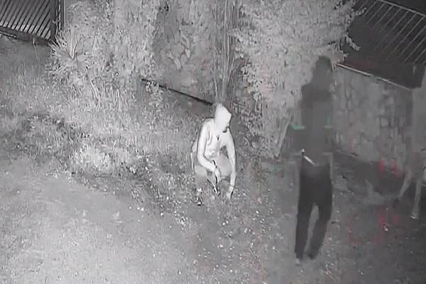 IL VIDEO. CASERTA. Tre giovani ladri provano il colpo grosso in una villa in periferia - CasertaCE
