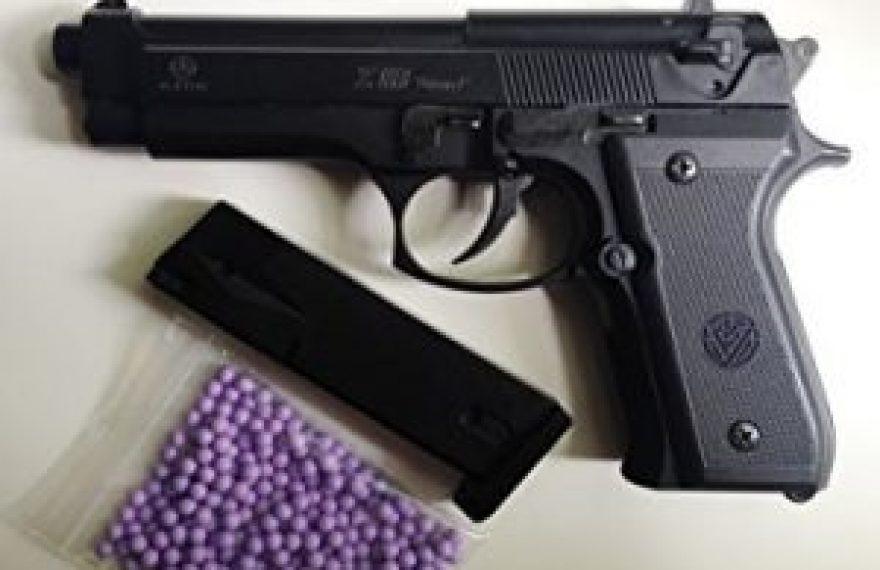 CASERTACE - 12enne si spara al piede con una pistola a piombini, trasportato in ospedale