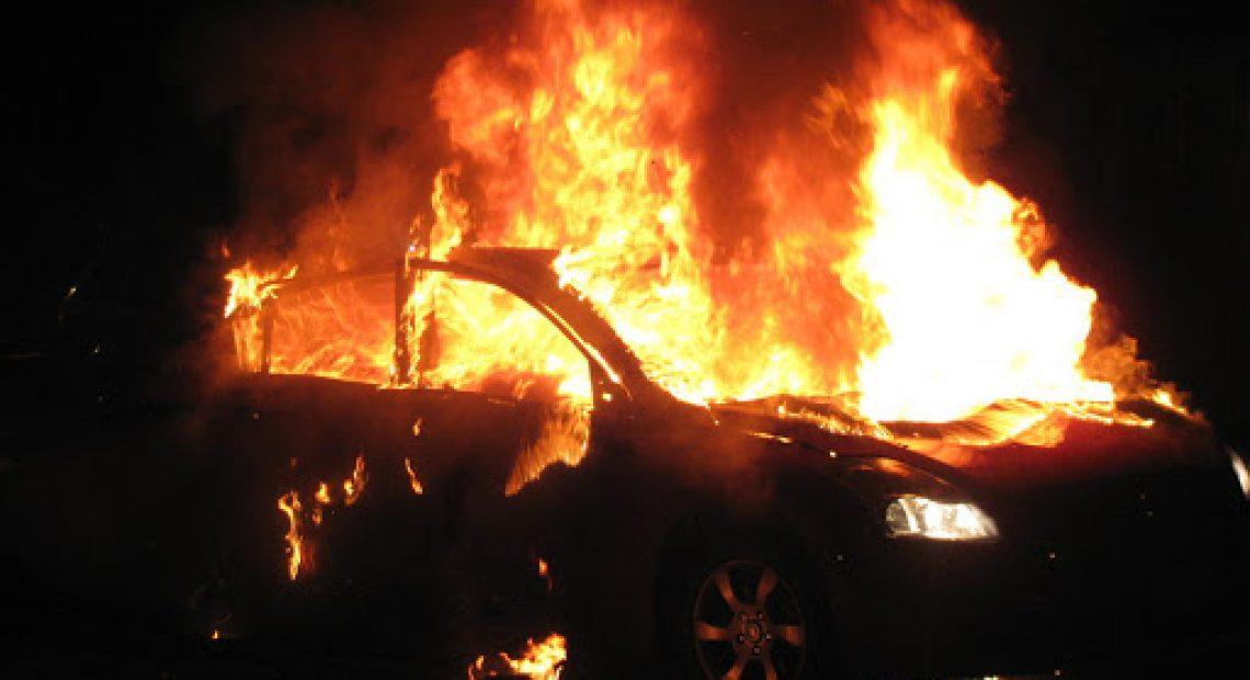 CASERTACE - Da fuoco alla macchina della ex e la sperona, esce dal carcere il cugino dei boss Belforte