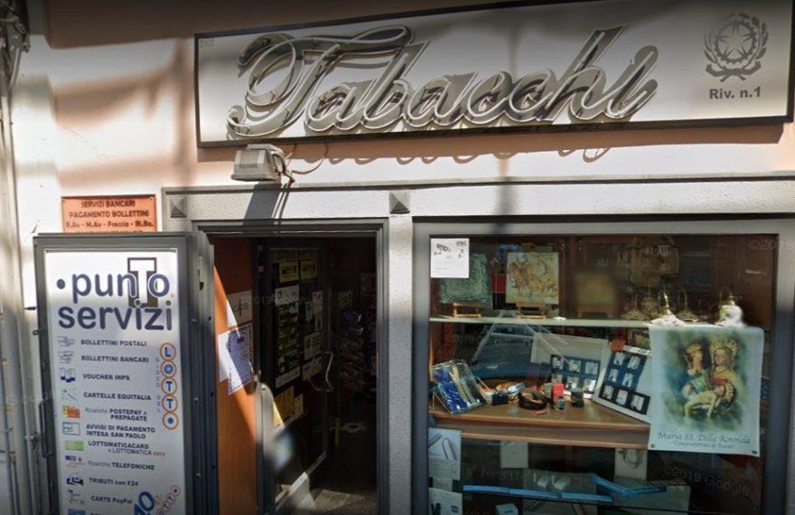 CASERTACE - Tentato il colpo in tabaccheria. L'allarme li mette in fuga