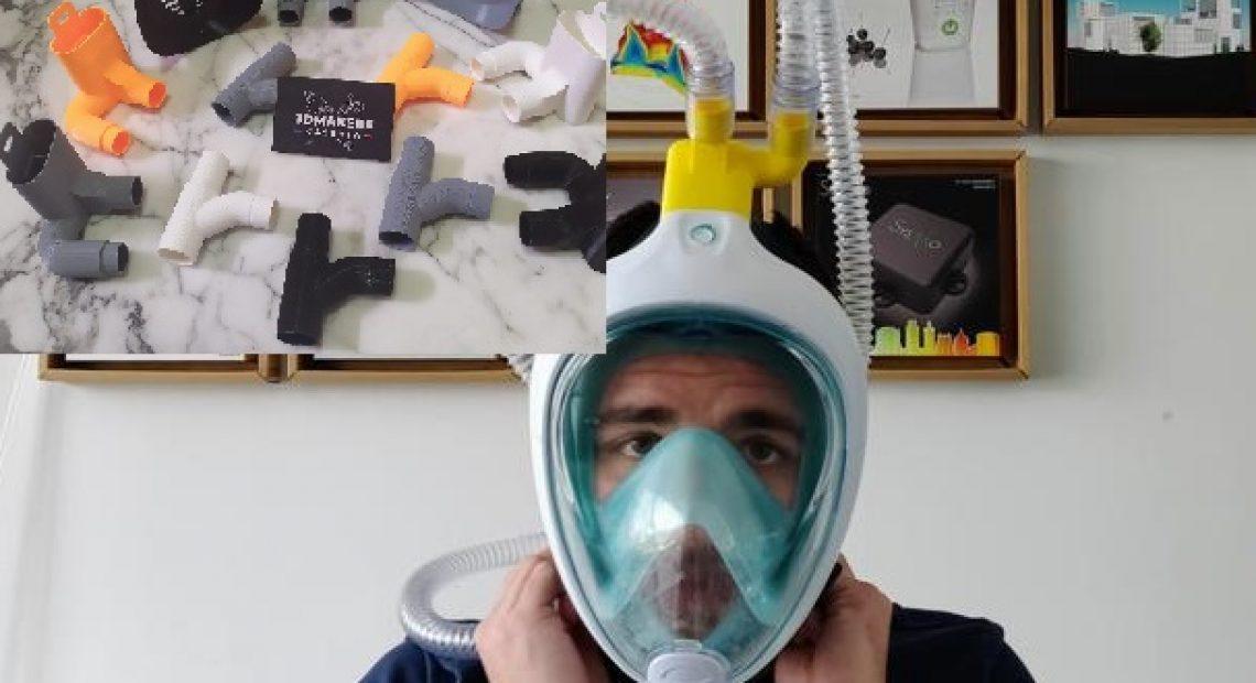 """CASERTACE - STORIE DALLA QUARANTENA. Da CASAGIOVE alla Lombardia gli adattatori per le maschere d'ossigeno. """"Se serve, pronti ad aiutare CASERTA"""""""