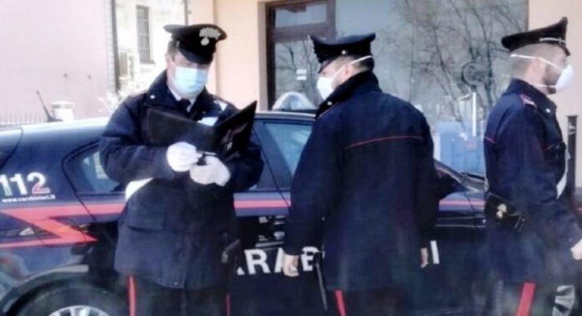 mascherina carabinieri
